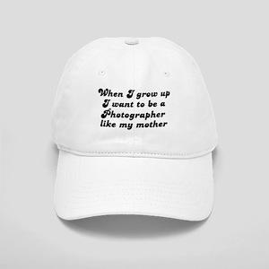 Photographer like my mother Cap