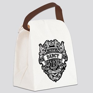 TEAM DARCY Canvas Lunch Bag