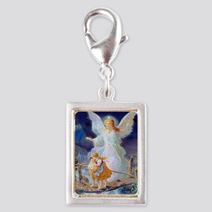 Guardian Angel and Children Crossing Bridge Charms