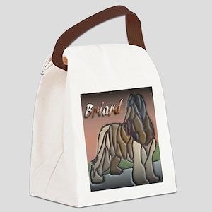 Briard Canvas Lunch Bag