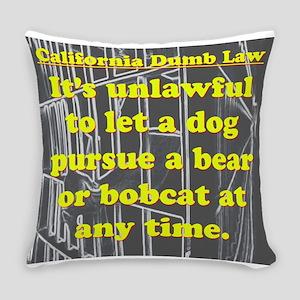 California Dumb Law 001 Everyday Pillow