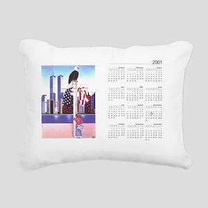 "We""ll Never Forget ( Sep Rectangular Canvas Pillow"