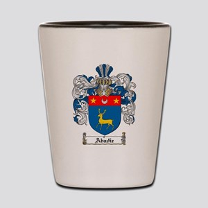 Abadie coat of arms / family crest Shot Glass
