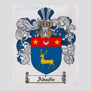 Abadie coat of arms / family crest Throw Blanket