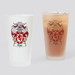 Abajo coat of arms / family crest Drinking Glass