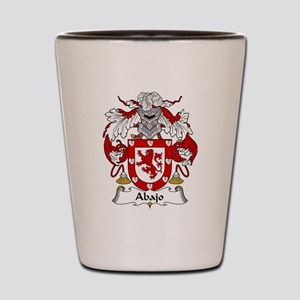 Abajo coat of arms / family crest Shot Glass