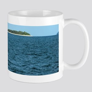 Tropical coral island Mug