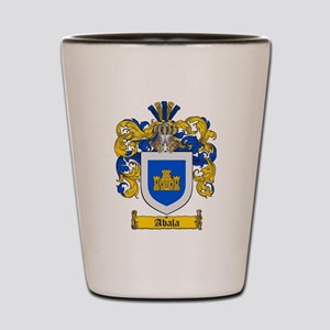 Abala coat of arms / family crest Shot Glass