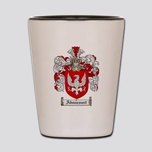 Abancourt coat of arms / family crest Shot Glass