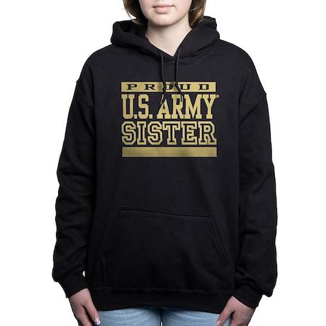Orgogliosi Di Noi Esercito Sorella Felpa Con Cappuccio Da Donna mneTQDY