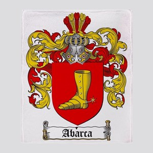 Abarca coat of arms / family crest Throw Blanket