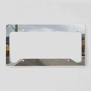 queenstown street License Plate Holder