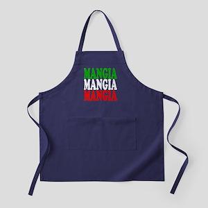Mangia, Mangia, Mangia Apron (dark)