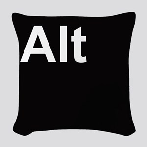 alt2 Woven Throw Pillow