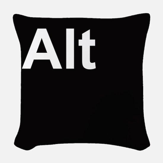 alt2 Woven Throw Pillow