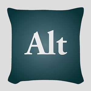 alt3 Woven Throw Pillow