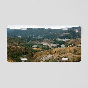 queenstown tasmania Aluminum License Plate