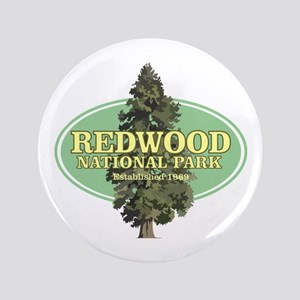 Redwood National Park Button