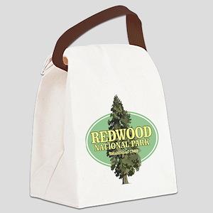 Redwood National Park Canvas Lunch Bag