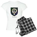 Armstrong Clan Crest Tartan Women's Light Pajamas