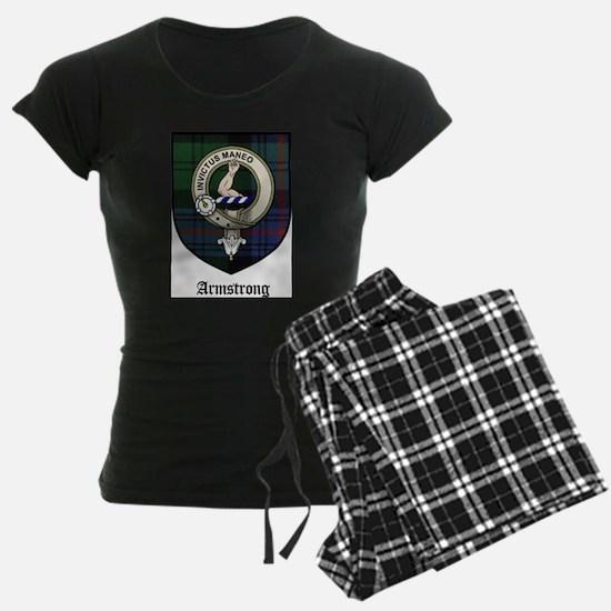 Armstrong Clan Crest Tartan Pajamas