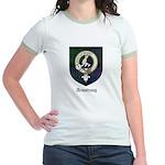 Armstrong Clan Crest Tartan Jr. Ringer T-Shirt