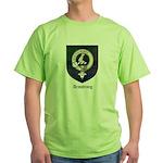 Armstrong Clan Crest Tartan Green T-Shirt