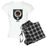 Baillie Clan Crest Tartan Women's Light Pajamas