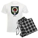 Baillie Clan Crest Tartan Men's Light Pajamas