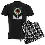 Baillie Clan Crest Tartan Men's Dark Pajamas