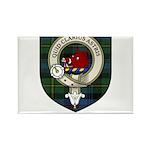 Baillie Clan Crest Tartan Rectangle Magnet (100 pa