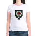 Baillie Clan Crest Tartan Jr. Ringer T-Shirt