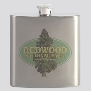 Redwood National Park Flask