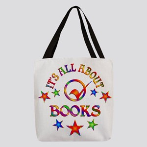 All About Books Polyester Tote Bag