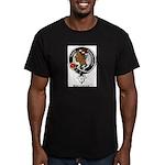 Borthwick.jpg Men's Fitted T-Shirt (dark)