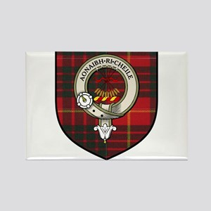 Cameron Clan Crest Tartan Rectangle Magnet
