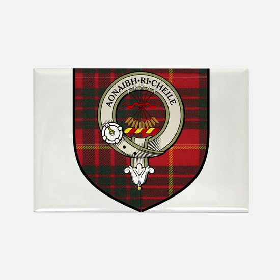 Cameron Clan Crest Tartan Rectangle Magnet