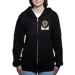 Christie Clan Badge Tartan Women's Zip Hoodie