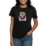 Christie Clan Badge Tartan Women's Dark T-Shirt