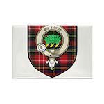 Christie Clan Badge Tartan Rectangle Magnet (100 p