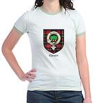 Christie Clan Badge Tartan Jr. Ringer T-Shirt