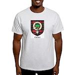 Christie Clan Badge Tartan Light T-Shirt