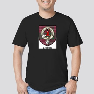CrawfordCBT Men's Fitted T-Shirt (dark)