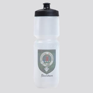 Davidson Clan Crest Tartan Sports Bottle