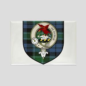 Graham Clan Crest Tartan Rectangle Magnet