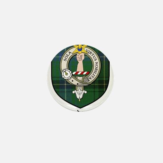 Henderson Clan Crest Tartan Mini Button