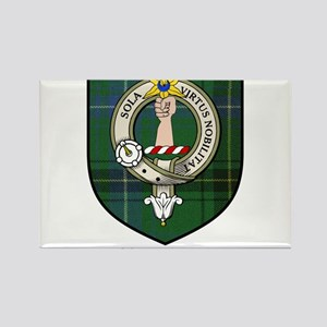 Henderson Clan Crest Tartan Rectangle Magnet