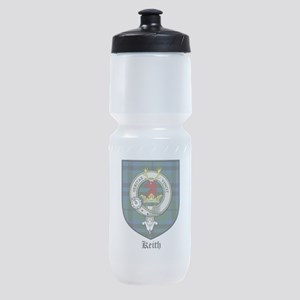 Keith Clan Crest Tartan Sports Bottle