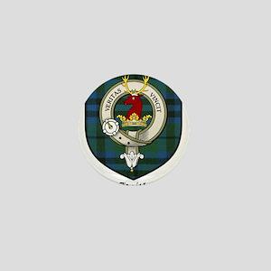Keith Clan Crest Tartan Mini Button