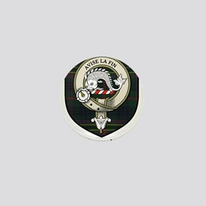 Kennedy Clan Crest Tartan Mini Button